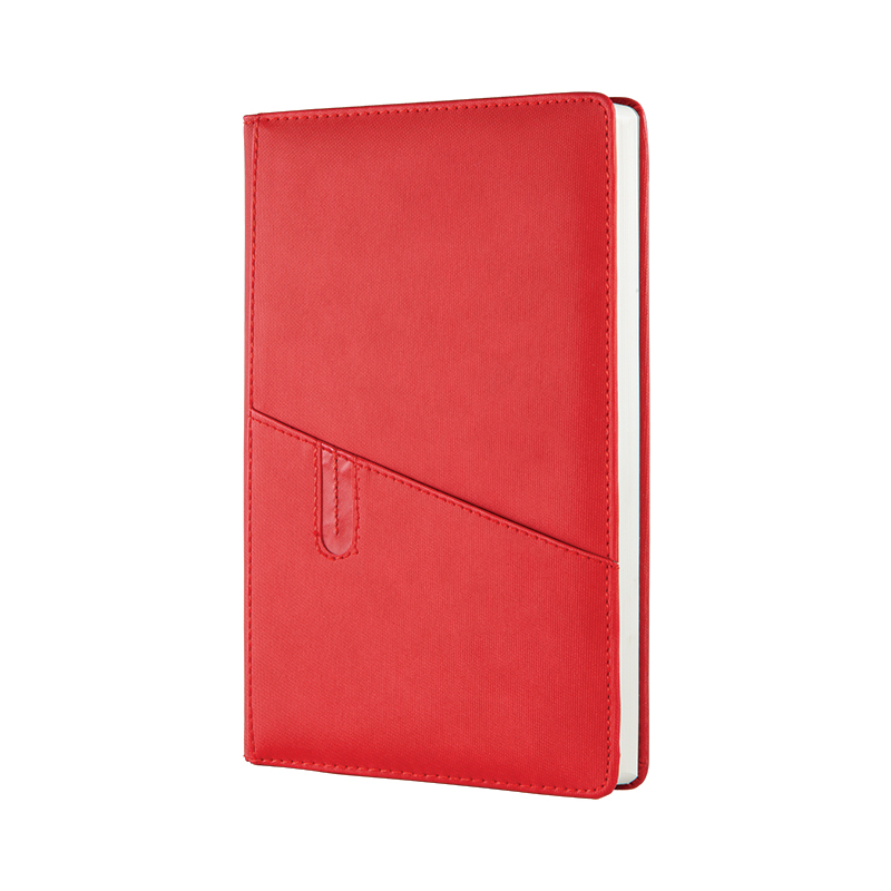379 Kırmızı Termo Deri· Ajanda - Ebat: 17 x 24 cm