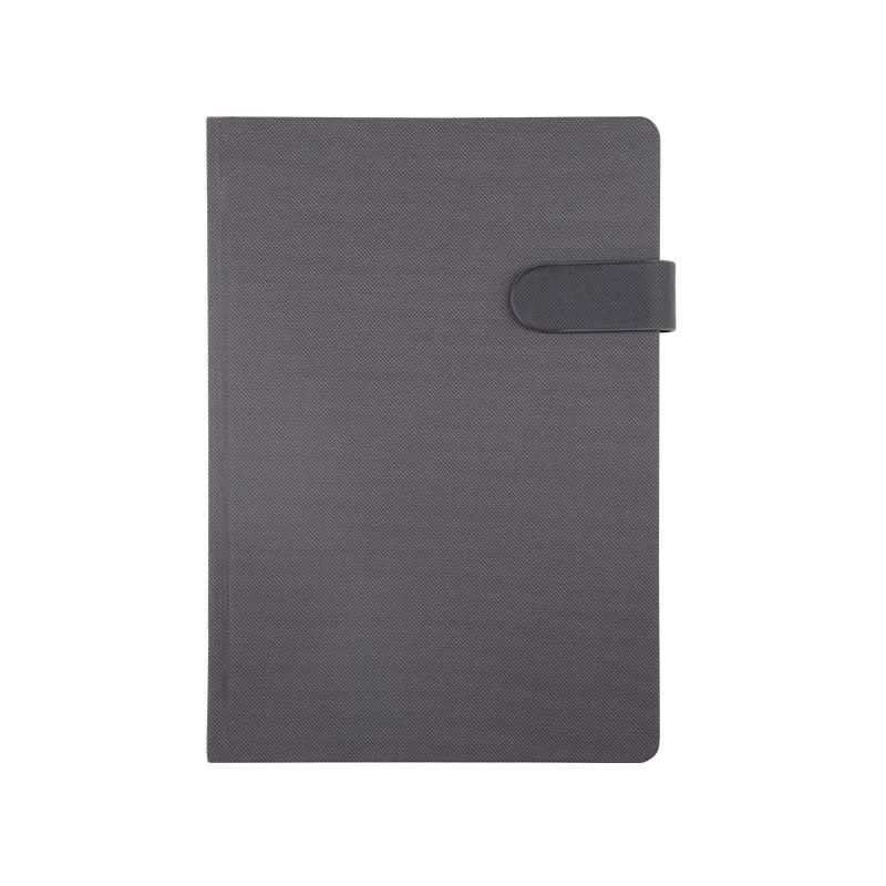 373 Siyah Termo Deri· Ajanda - Ebat: 17 x 24 cm