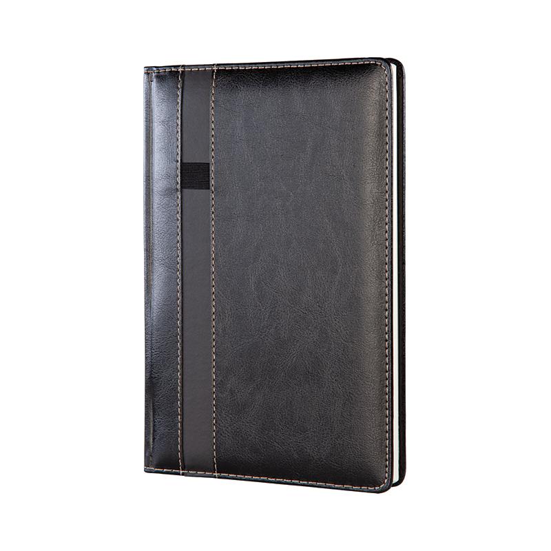 372 Siyah Termo Deri· Ajanda - Ebat: 17 x 24 cm